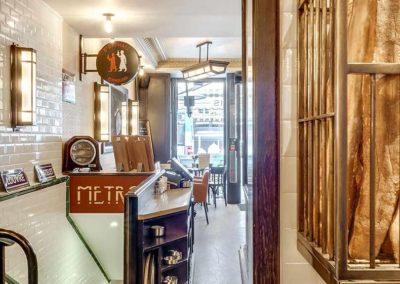 Cafe de Paris - Couloir