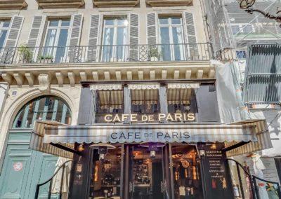 Cafe de Paris - Facade