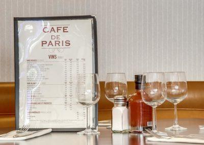 Cafe de Paris - Menu (2)