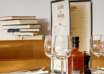 Cafe de Paris - Menu