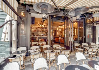 Cafe de Paris - Terrasse